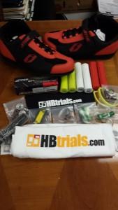 HB Trials Giveaway Items